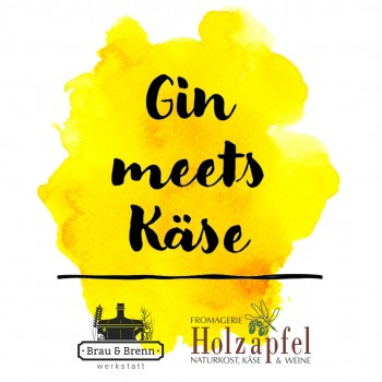 Gin Meets Käse - Paket für bis zu 4 Personen 16.04.2021